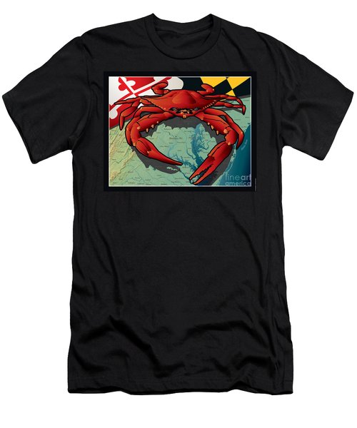 Citizen Crab Of Maryland Men's T-Shirt (Athletic Fit)