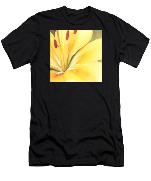 Citrine Blossom Men's T-Shirt (Athletic Fit)