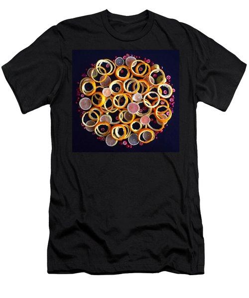 Citrus Delight Men's T-Shirt (Athletic Fit)