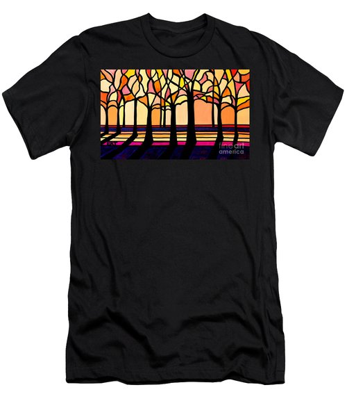 Citrus Glass Trees Men's T-Shirt (Athletic Fit)