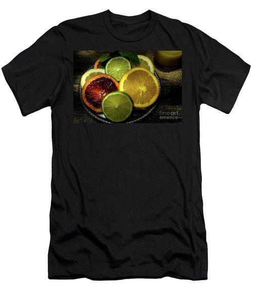 Citrus Platter Men's T-Shirt (Athletic Fit)