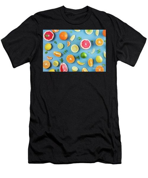 Citrus Summer Men's T-Shirt (Athletic Fit)