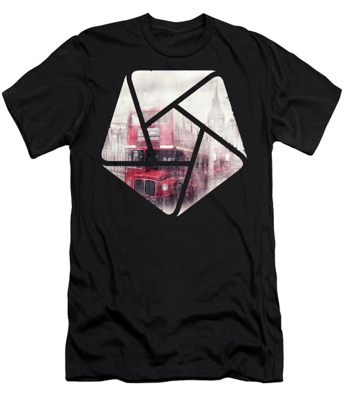 City-art London Westminster Collage II Men's T-Shirt (Athletic Fit)