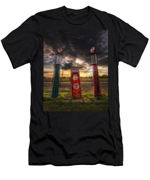 City Garage Sunset Men's T-Shirt (Athletic Fit)