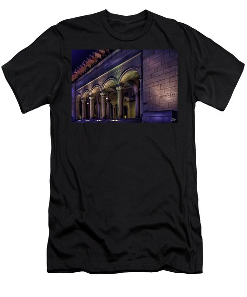 City Hall At Night Men's T-Shirt (Athletic Fit)