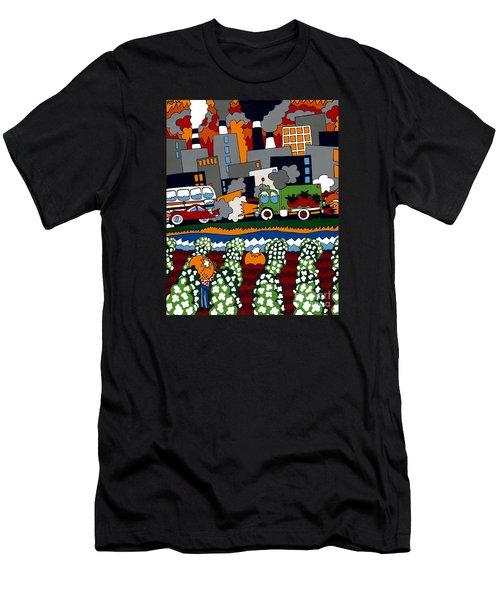 City Limits Men's T-Shirt (Athletic Fit)