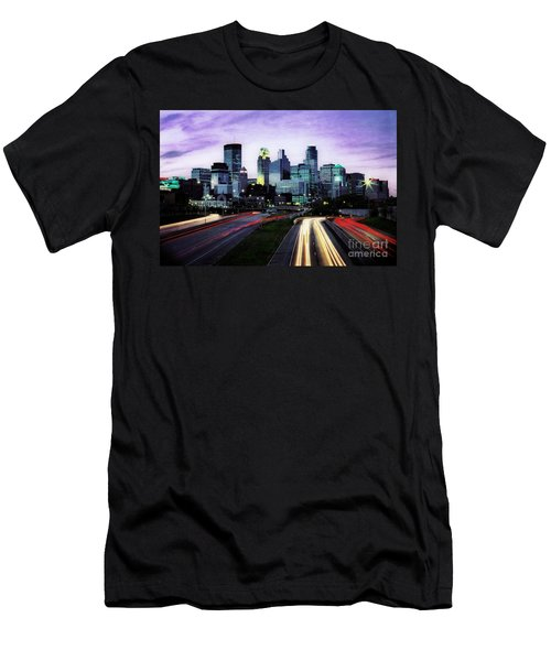 Men's T-Shirt (Athletic Fit) featuring the photograph City Moves by Scott Kemper