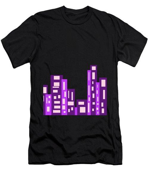 City Night Men's T-Shirt (Athletic Fit)