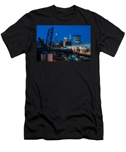 City Of Bridges Men's T-Shirt (Athletic Fit)