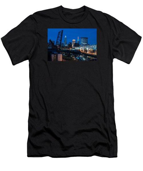 City Of Bridges Men's T-Shirt (Athletic Fit)