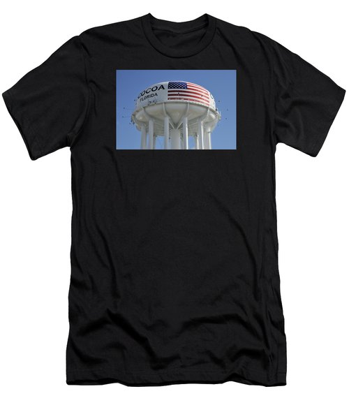 City Of Cocoa Water Tower Men's T-Shirt (Athletic Fit)
