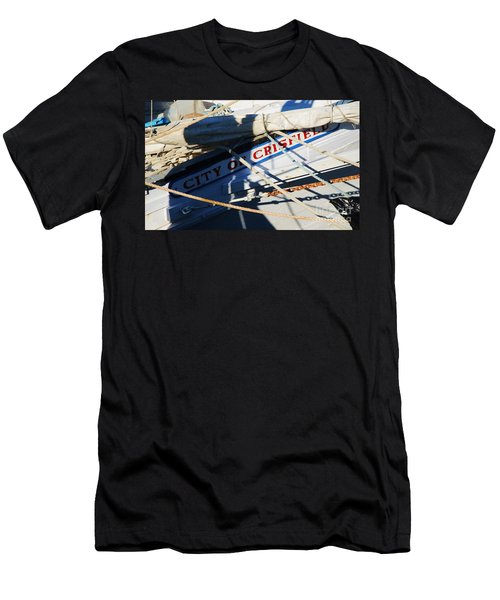 City Of Crisfield Skipjack, Deal Island M D  Men's T-Shirt (Athletic Fit)