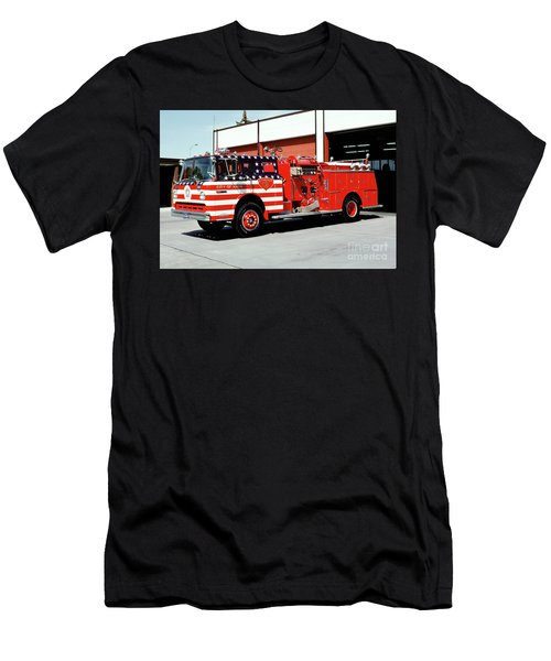 City Of Napa Van Pelt Engine 3 Men's T-Shirt (Athletic Fit)