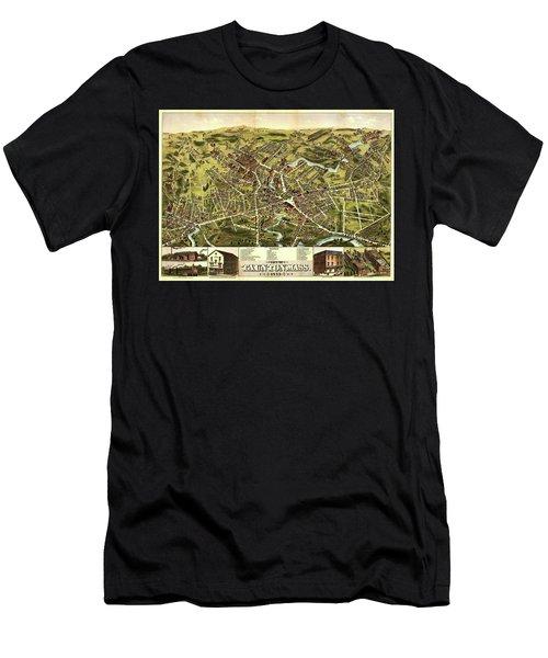 City Of Taunton, Mass Men's T-Shirt (Athletic Fit)