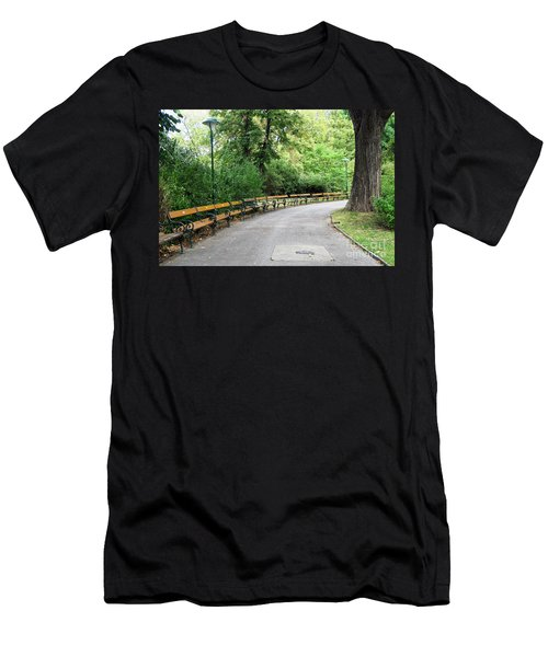 City Park, Vienna Men's T-Shirt (Athletic Fit)