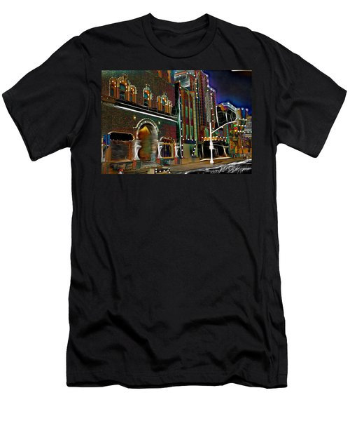 Men's T-Shirt (Slim Fit) featuring the photograph City Scene by EricaMaxine  Price