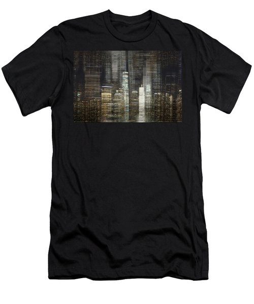 City Tetris Men's T-Shirt (Athletic Fit)