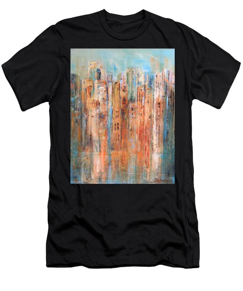 Cityscape #3 Men's T-Shirt (Athletic Fit)