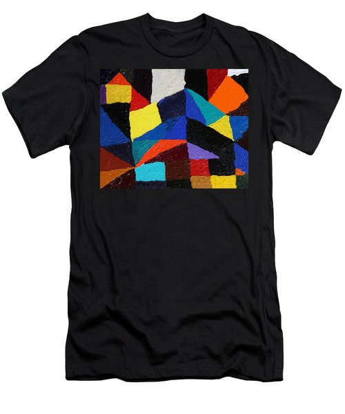 Cityscape Men's T-Shirt (Slim Fit) by Ralph White