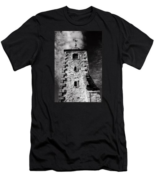 Clackmannan Tollbooth Tower Men's T-Shirt (Slim Fit) by Jeremy Lavender Photography