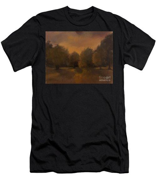 Clapham Common At Dusk Men's T-Shirt (Athletic Fit)