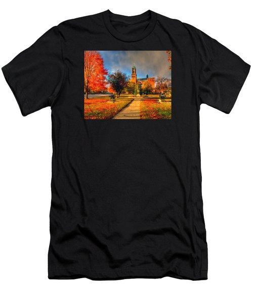 Claremont Center 234 Men's T-Shirt (Athletic Fit)