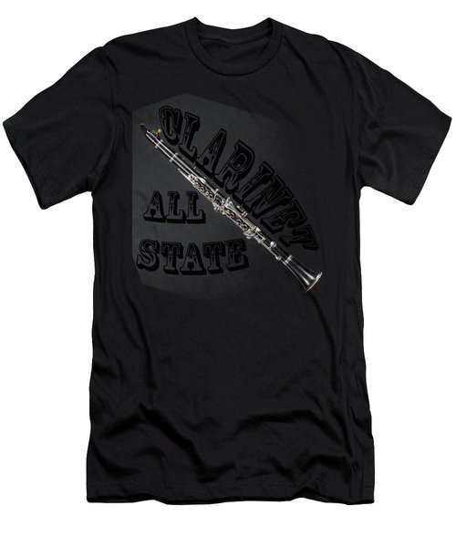 Clarinet All State Men's T-Shirt (Athletic Fit)