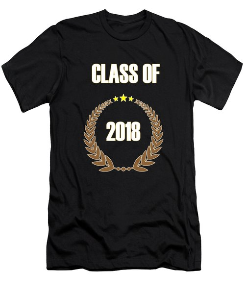 Class Of 2018 Men's T-Shirt (Athletic Fit)