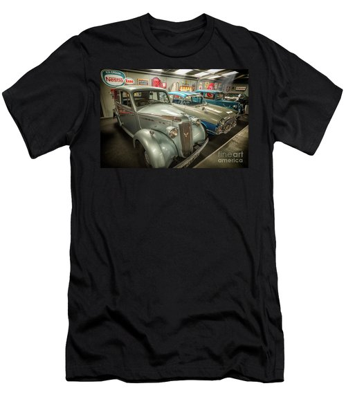 Men's T-Shirt (Slim Fit) featuring the photograph Classic Car Memorabilia by Adrian Evans