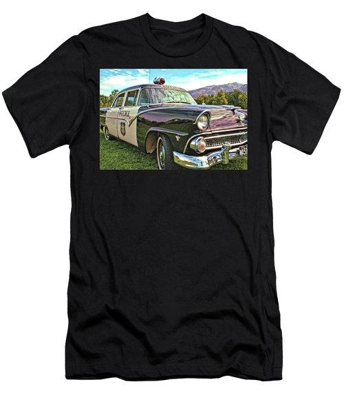 Classic Cop Car Men's T-Shirt (Athletic Fit)