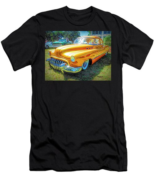 Classic Fifties Buick - Cruising The Coast Men's T-Shirt (Athletic Fit)