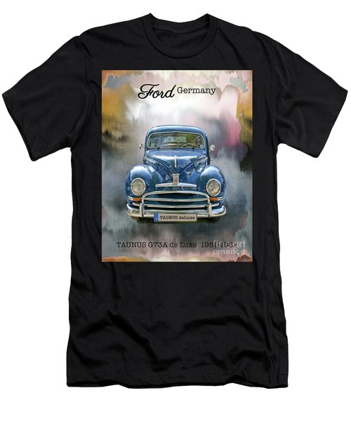 Classic Ford Taunus Deluxe Men's T-Shirt (Athletic Fit)