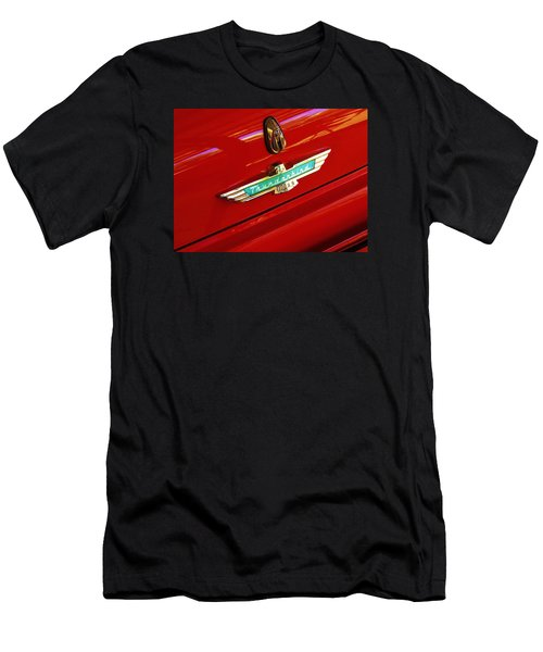 Classic Ford Thunderbird Emblem Men's T-Shirt (Athletic Fit)