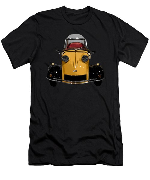 Classic M Motor Art Men's T-Shirt (Athletic Fit)