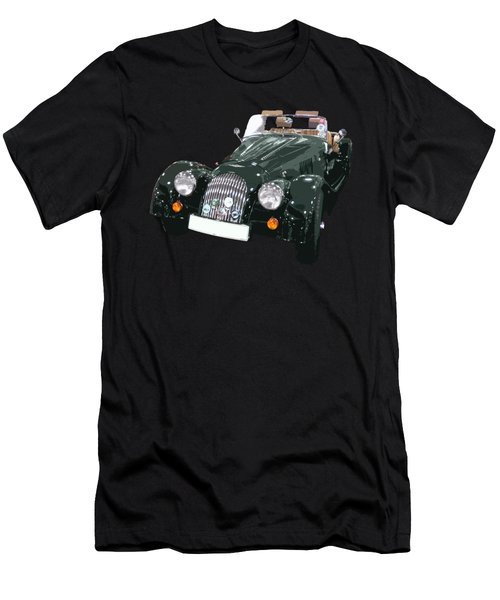 Classic Motor Art In Green Men's T-Shirt (Athletic Fit)