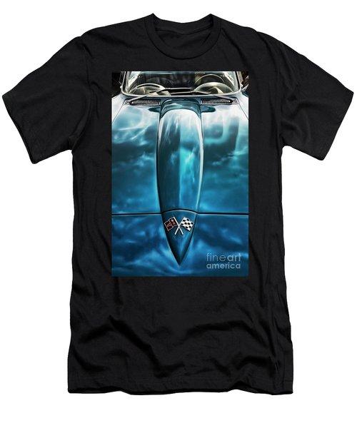 Classic Muscle - Corvette Roadster Men's T-Shirt (Athletic Fit)