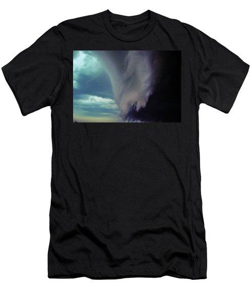 Classic Nebraska Shelf Cloud 029 Men's T-Shirt (Athletic Fit)