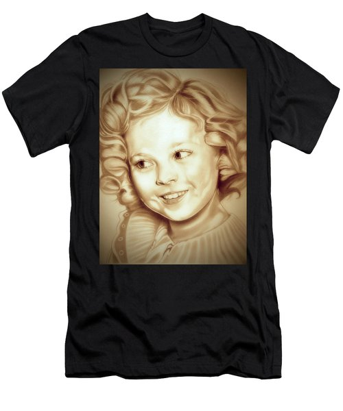 Classic Shirley Temple Men's T-Shirt (Slim Fit) by Fred Larucci