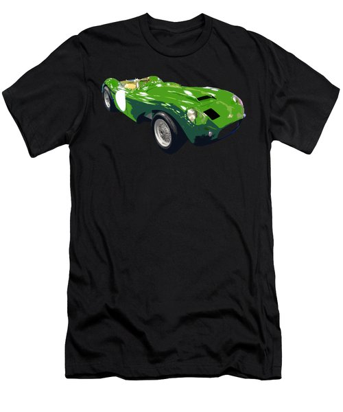 Classic Sports Green Art Men's T-Shirt (Athletic Fit)