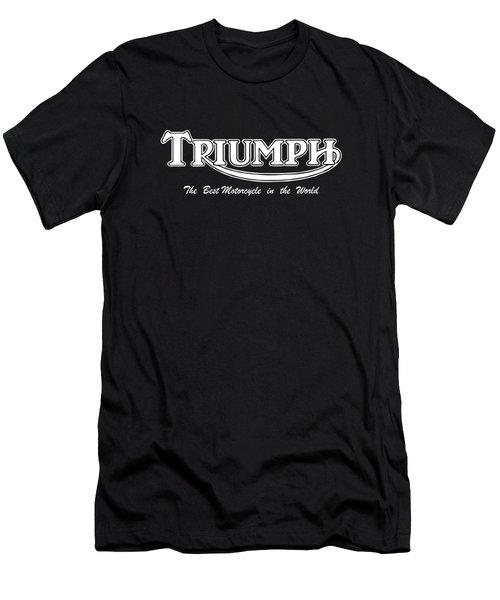 Classic Triumph Phone Case Men's T-Shirt (Athletic Fit)