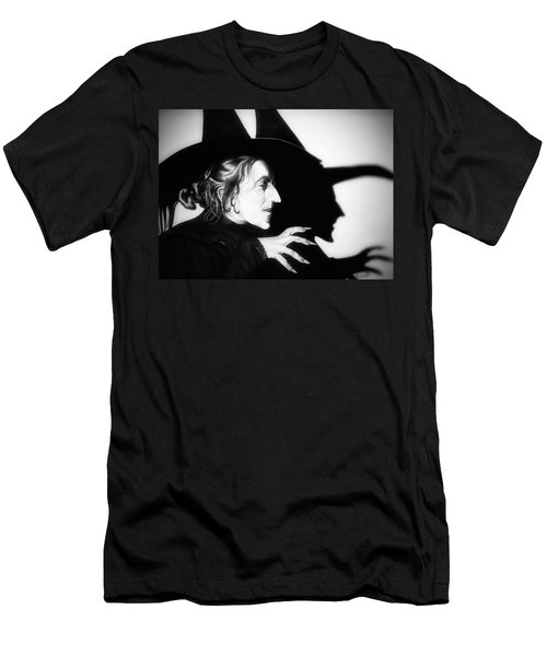 Classic Wicked Witch Of The West Men's T-Shirt (Slim Fit) by Fred Larucci