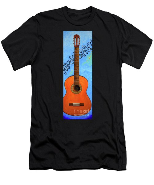 Men's T-Shirt (Athletic Fit) featuring the painting Classical Music by Mary Scott