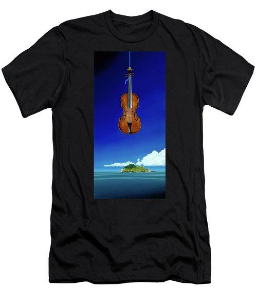 Classical Seascape Men's T-Shirt (Athletic Fit)