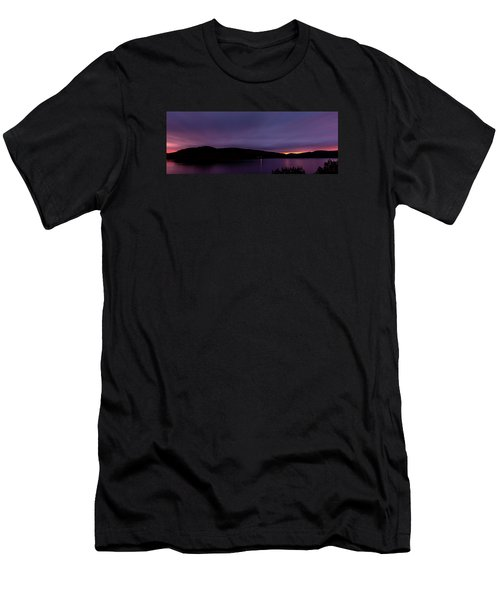 Clatteringshaws After Sunset. Men's T-Shirt (Athletic Fit)