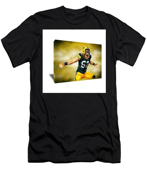 Clay Matthews Canvas Art Men's T-Shirt (Athletic Fit)