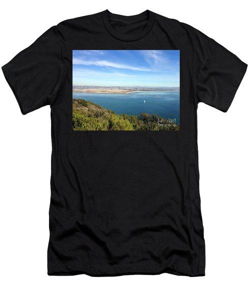 Clear Blue Sea Men's T-Shirt (Athletic Fit)