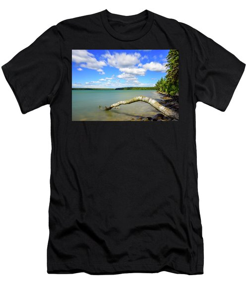 Clear Lake Men's T-Shirt (Athletic Fit)