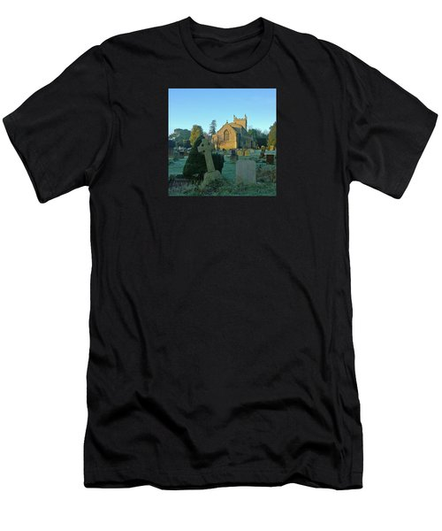 Clear Light In The Graveyard Men's T-Shirt (Athletic Fit)
