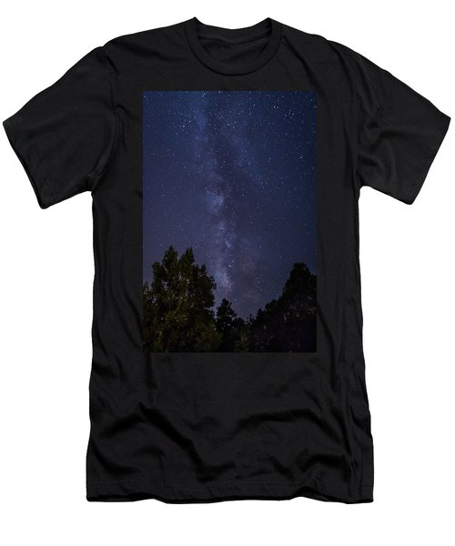 Clear Night In Ruidoso Men's T-Shirt (Athletic Fit)