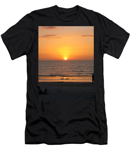 Clear Sunset Men's T-Shirt (Athletic Fit)